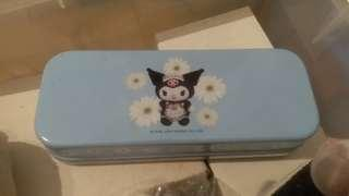 SANIO 鐵筆盒 雙層筆盒