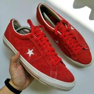 Converse One Star Red Suede