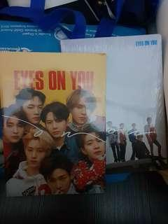 GOT7 'Eyes On You' Sealed Albums