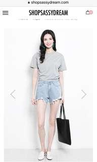 🚚 SSD Raisa Basic Top in grey