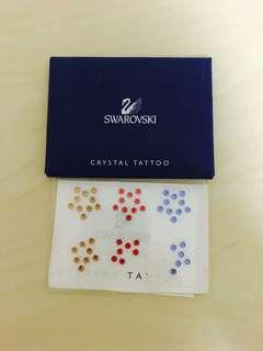 Swarovski Crystal Tattoo festival jewellery makeup