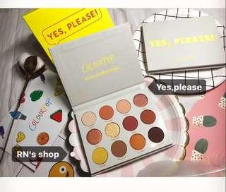 ✨全新Colourpop-yes,please眼影組