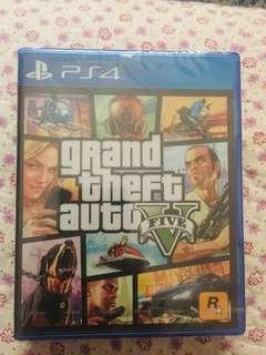 (New&Sealed) GTA V Ps4
