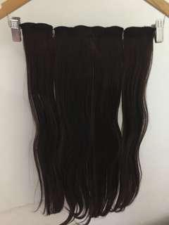 hair clip korea 100k dapet 2