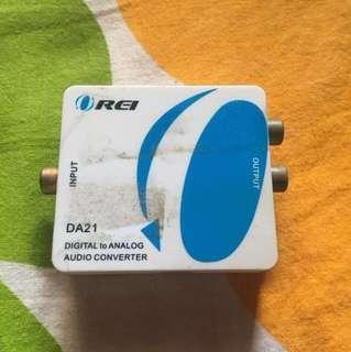 REI DA21 Digital To Analog Audio Convertor