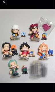One Piece 海賊王 be smiles 笑容路飛 Luffy 公仔6隻 smile @