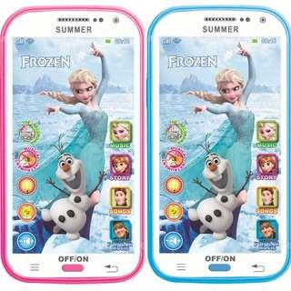 Frozen Elsa Mobile Handphone Toy with Music, Recording, Torch Light, Story