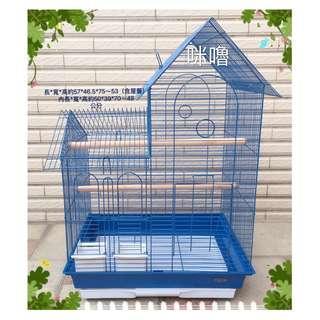 。╮♥寶貝咪嚕的家♥╭。豪華洋房型鳥籠 適合:寵物鳥/蜜袋鼯等