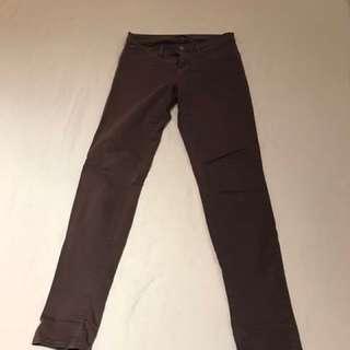 J Brand mid rise mauve jeans size 28
