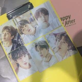 BTS Exhibition Clip Board PC
