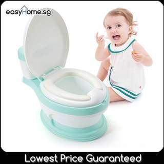 🚚 Clone Toilet Potty / 3 Colors - Real Look-alike Cute Potty - Kids children urine training