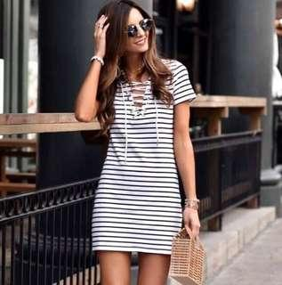 NOV 18 STRIPE DRESS (DDSY)