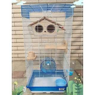 。╮♥寶貝咪嚕的家♥╭。抽屜式小蜜樓房^.^適合:寵物鳥/蜜袋鼯