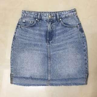 🚚 H&M 牛仔裙-彈性棉