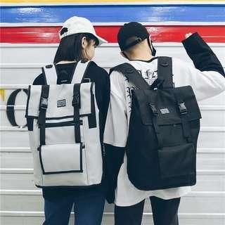 [PO] Korean Ulzzang Hip Hop unisex backpack