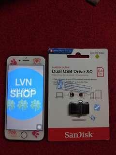 USB OTG 64GB Sandisk Ultra Dual USB Drive 3.0