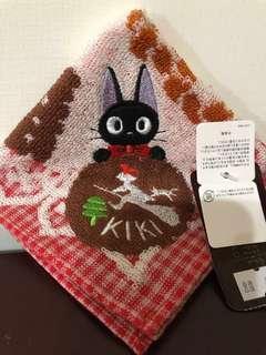 🚚 魔女宅急便 jiji黑貓手帕 方巾