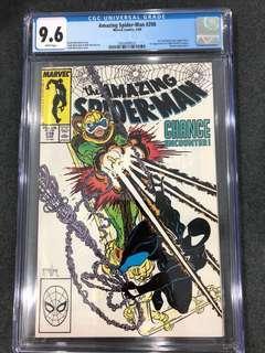 Amazing Spider-Man 298 Cgc 9.6 ( 1st Eddie Brock Venom & Todd McFarlene SpiderMan )