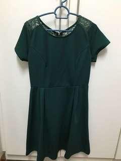 PADINI - Green lace dress