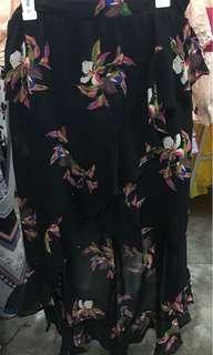 Chiffon Floral Skirt