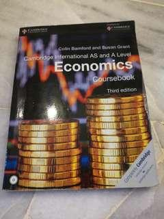 A Level Economics Textbook / Coursebook