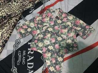 Crop top vintage lucu