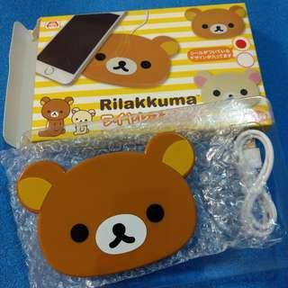 Rilakkuma 鬆弛熊 輕鬆小熊 拉拉熊 無線充電器 wireless charger