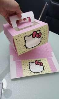 Hello Kitty Cake box with Handle
