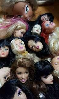 Barbie and Other dolls Head