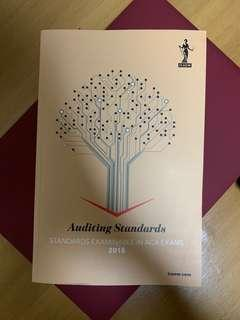 ICAEW Auditing Standards 2018