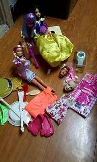 Barbie and Jenny lot A