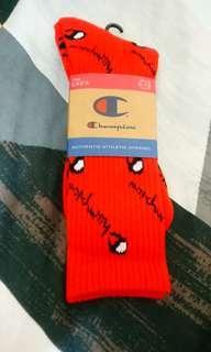Champion 冠軍襪 紅色