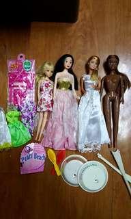 Barbie and Jenny lot C