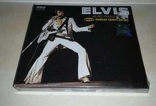 ELVIS PRESLEY - AS RECORDED AT MADISON SQUARE GARDEN 2CD