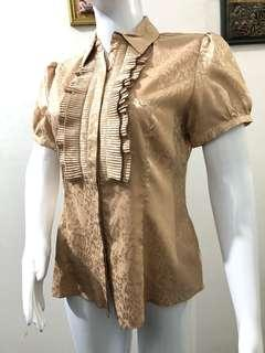 Kemeja gold gold blouse