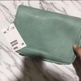 H&M Teal Green Sling Bag