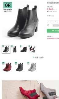 3.7折 ORientalTRaffic 短靴黑 L