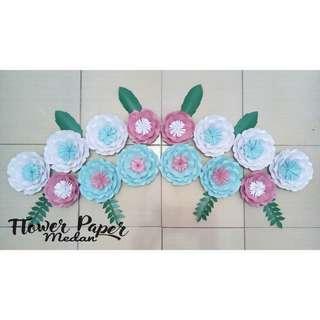 Paper flower sangat murah