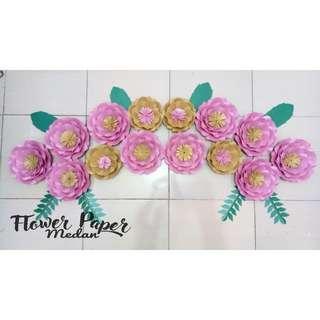 Paper flower bunga kertas termurah