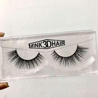 New Mink Eyelashes Free postage