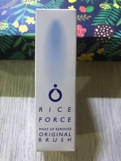 Rice Force make up remover with original brush