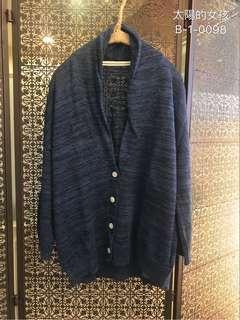 🚚 👭 私人愛典藏·外套款·雲藍排扣外套