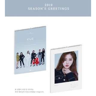 CLC - 2019 SEASON'S GREETING