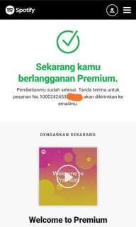 Spotify Premium 3 Bulan cuma 15000!