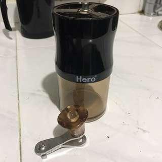 手動磨豆機 咖啡豆