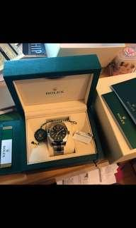 Rolex Milgauss 116400GV 綠玻璃