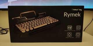 Rymek復古打字機型藍芽USB二合一鍵盤 iPad Pro