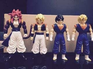 Dragonball figures