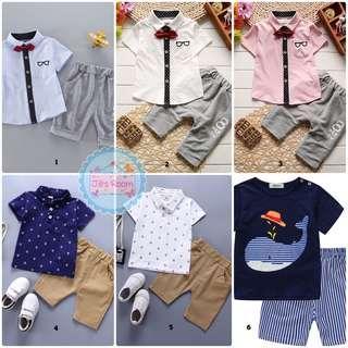 Setelan baju bayi import