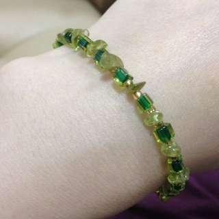 綠幽靈琉璃手鍊